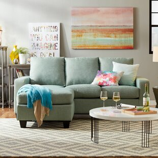 Review Morpheus Reversible Sectional with Ottoman by Mercury Row