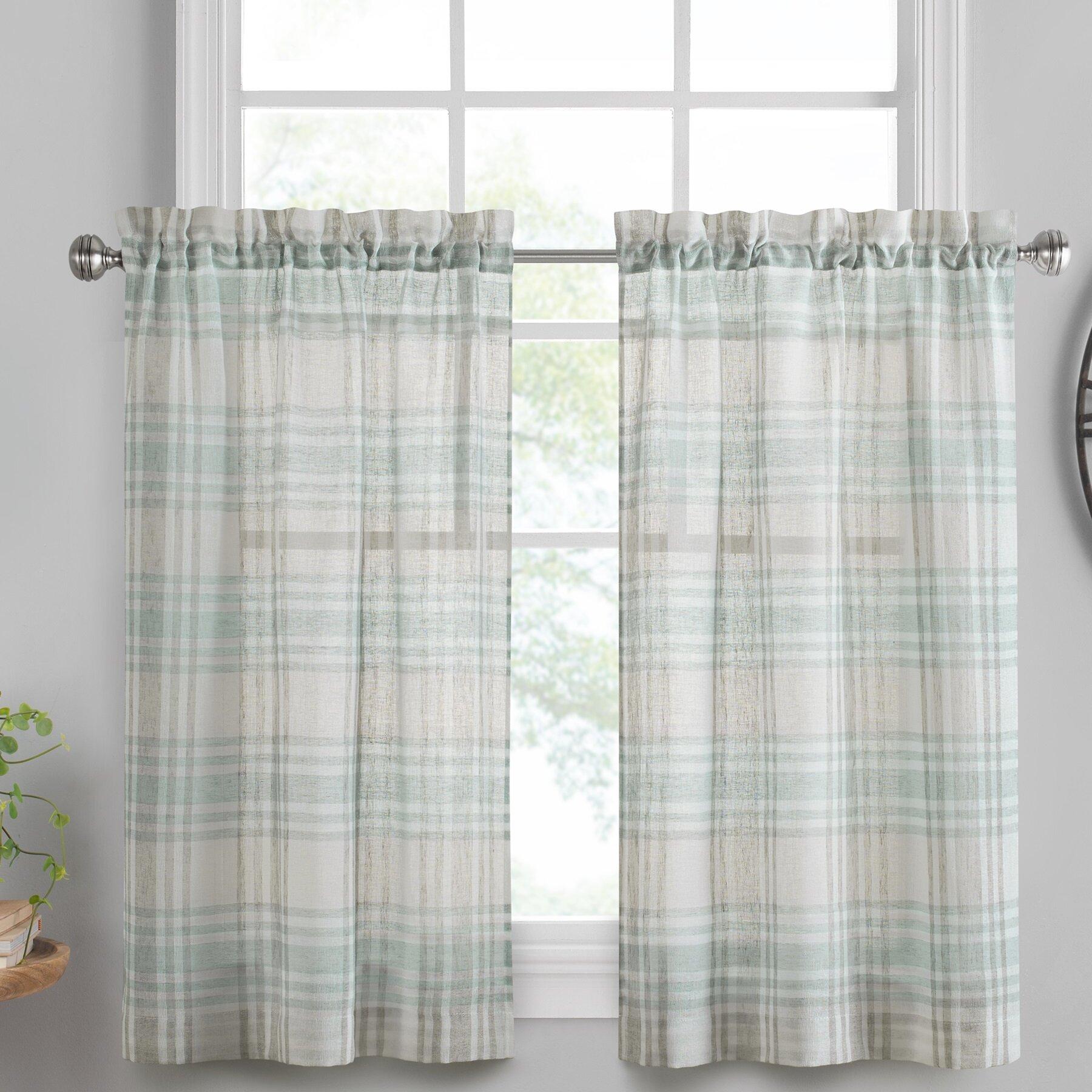 Gracie Oaks Sutton Window Cafe Curtain Reviews Wayfair
