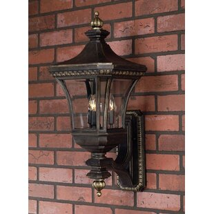 Falnaglass 3-Light Outdoor Sconce by Asto..