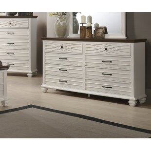 Parlington 8 Drawer Dresser
