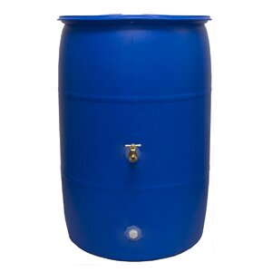 Rain Wizard 55 Gallon Rain Barrel