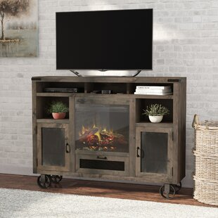 Laurel Foundry Modern Farmhouse Narbonne TV Stand with Fireplace
