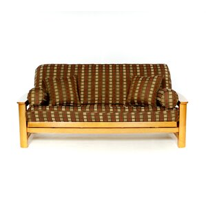 Stetson Box Cushion Futon Slipcover by Lifes..
