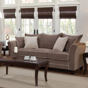 Agnes Upholstery Sofa by Alcott Hill