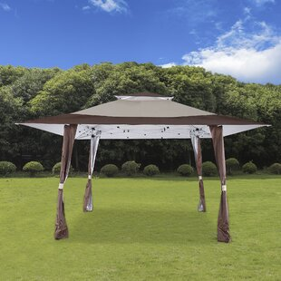 Cloud Mountain Inc. 13 Ft. W x 13 Ft. D Steel Pop-Up Party Tent