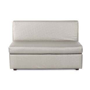 Lakeasha Slipper Loveseat by Orren Ellis