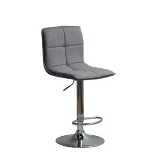 Silvis Adjustable Height Swivel Bar Stool Orren Ellis