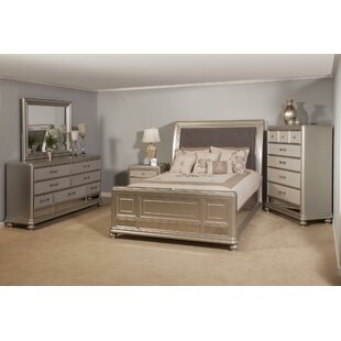Kilburn Sleigh 6 Piece Bedroom Set by Rosdorf Park