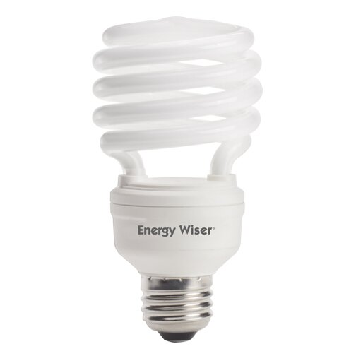Bulbrite Industries 23 Watt T2 Compact Fluorescent Light Bulb 500k E26 Medium Standard Base Wayfair