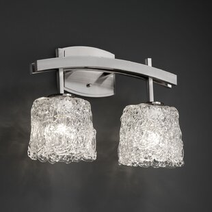 Tensho-Kan Archway 2 Light Oval Bath Vanity Light by Brayden Studio