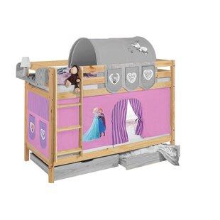 Disney's Frozen European Single Bunk Bed With Curtain By Frozen