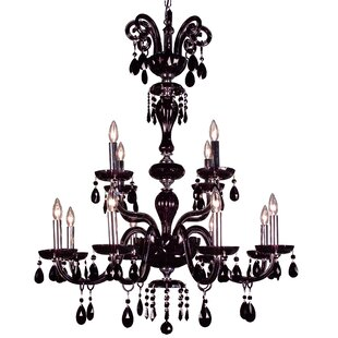 Classic Lighting Monte Carlo 12-Light Candle Style Chandelier