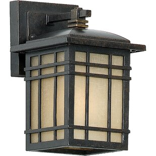 Three Posts Woodard Rustic 1-Light Outdoor Wall Lantern