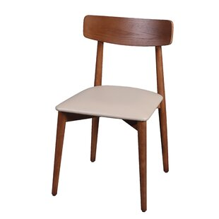 Johson Mid-Modern Solid Wood Dining Chair (Set of 2)