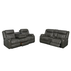 Judlaph 2 Piece Reclining Living Room ..