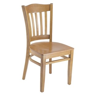 Darby Home Co Darlington Slat Back Solid Wood Dining Chair (Set of 2)