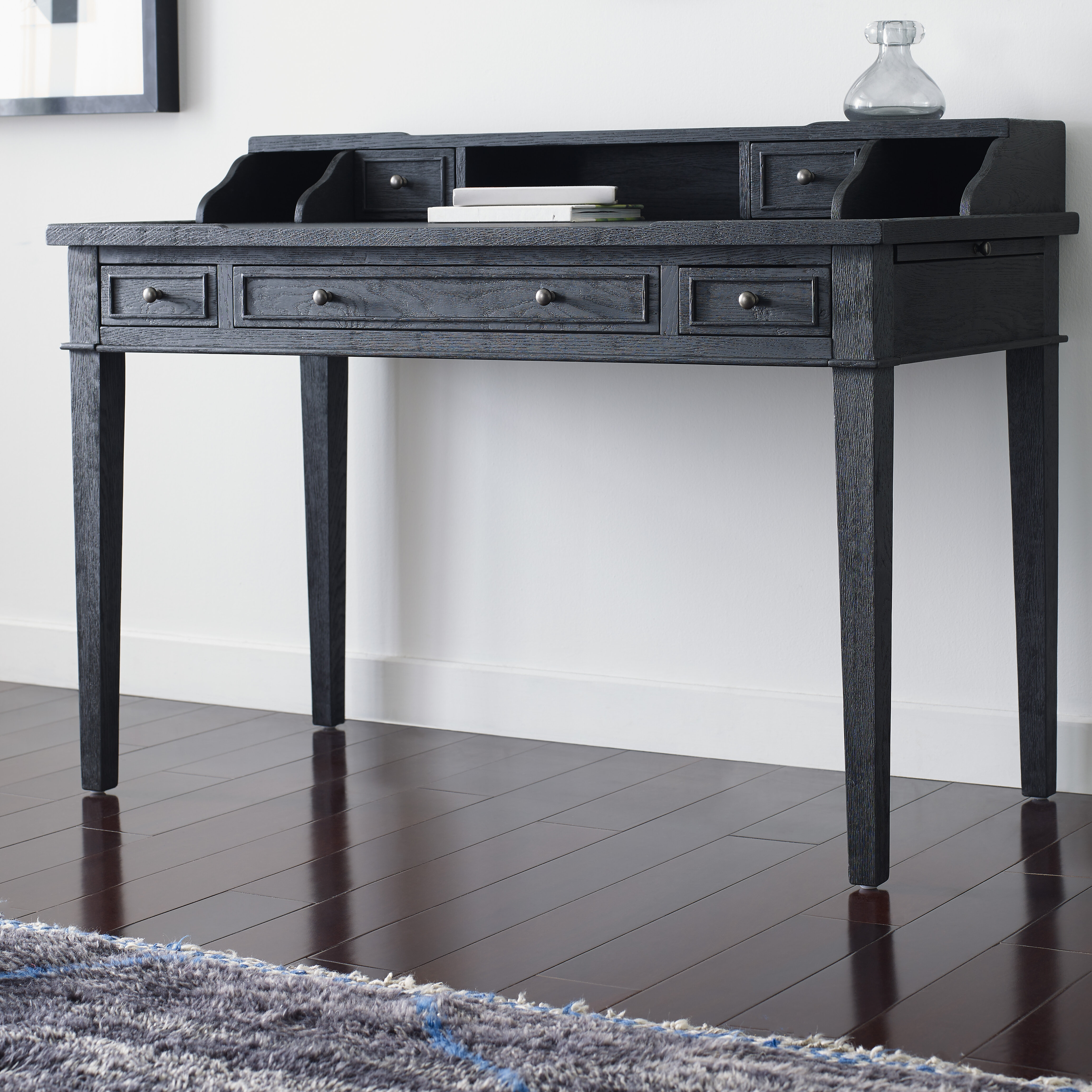 dining grey gray wyatt writing dp safavieh com kitchen desk collection american amazon homes