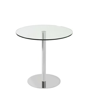Heffernan Glass Steel Dining Table Orren Ellis