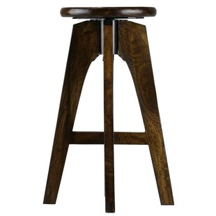 Castellane Adjustable Height Swivel Bar Stool by Union Rustic