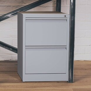 Sherryl Metal 2 Drawer Vertical Filing Cabinet
