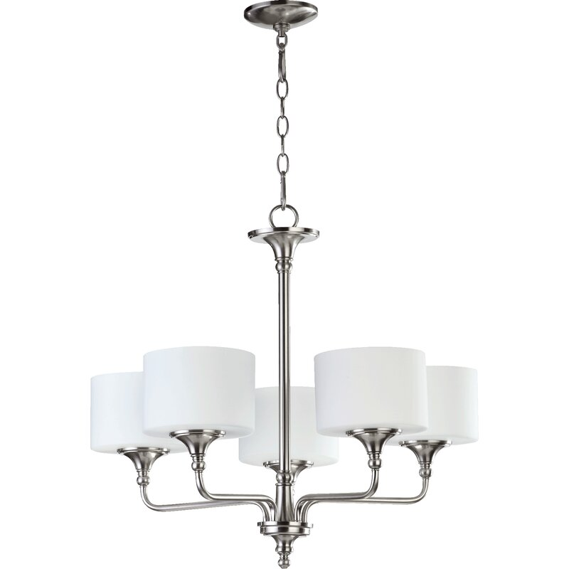 Alcott Hill Politte 5 Light Shaded Classic Traditional Chandelier Wayfair