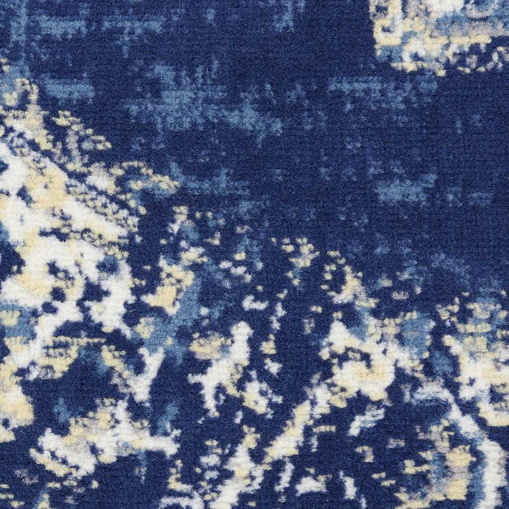 Susan Persian Inspired White Blue Area