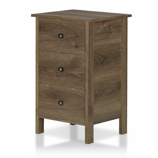 Maja 3 Drawer Nightstand by Longshore Tides