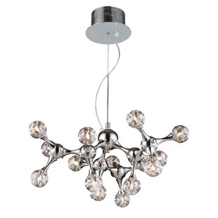 Brayden Studio Kurland Molecular 15-Light Chandelier