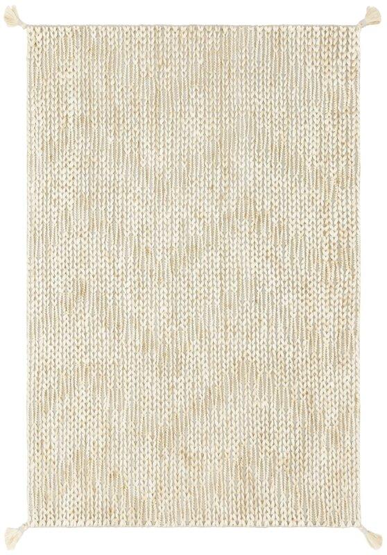 Shop Justina Blakeney x Loloi Playa Hand Knotted Ivory Rug | Wayfair from Wayfair on Openhaus