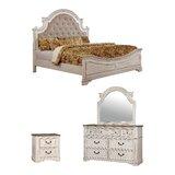 Miah Upholstered Standard Configurable Bedroom Set by Rosdorf Park