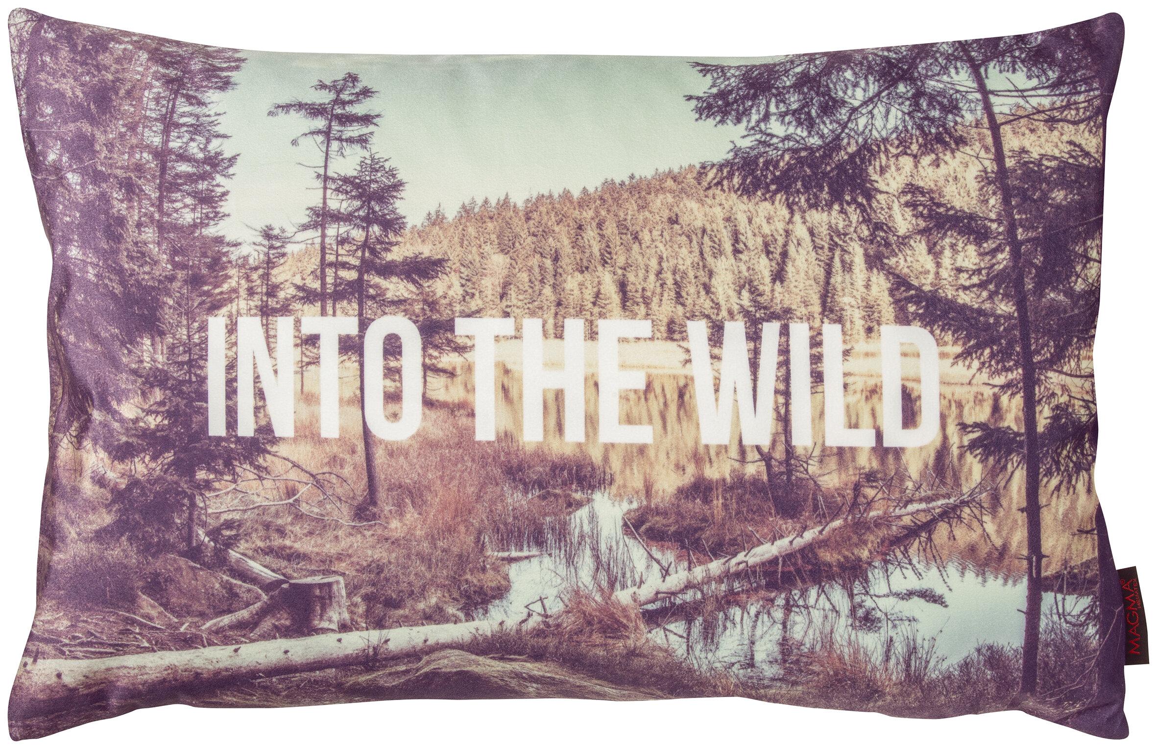 Gouchee Home Into The Wild Forest Lumbar Pillow Wayfair