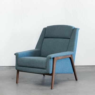Joselyn Armchair Corrigan Studio Upholstery: Light Blue