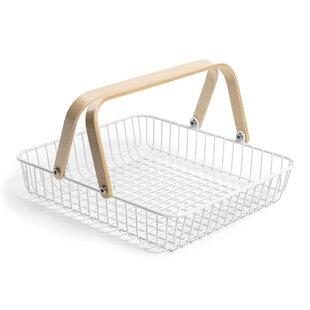 Tutbury Metal Basket By 17 Stories