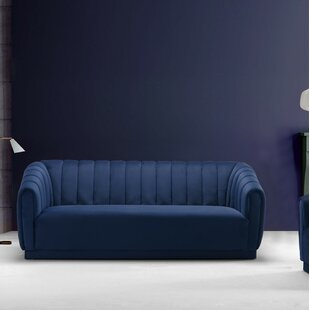 Cobalt Blue Velvet Sofa Wayfair