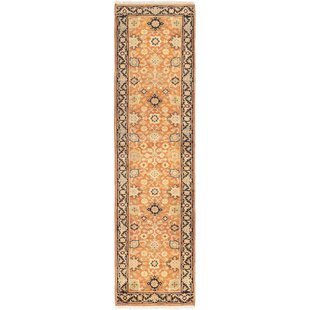 One-of-a-Kind Jonathon Serapi Hand-Knotted 2'8 x 9'11 Wool Beige/Brown/Black Area Rug Isabelline