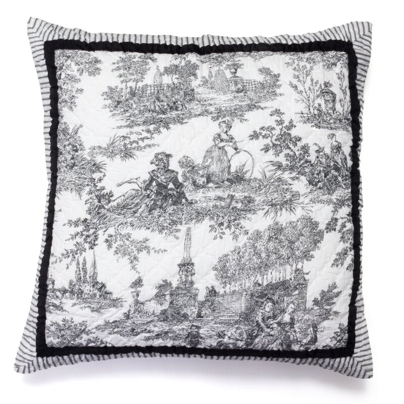 Ophelia Co Aubrie Cotton Throw Pillow Wayfair