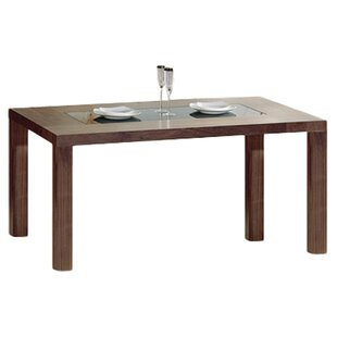 Solid Wood Dining Table by Hokku Designs