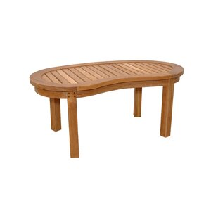 Anderson Teak Kidney Curve Teak Coffee Table