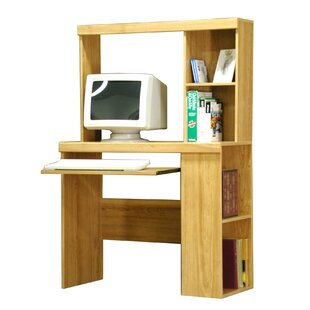 Ilsa Computer Desk with Hutch