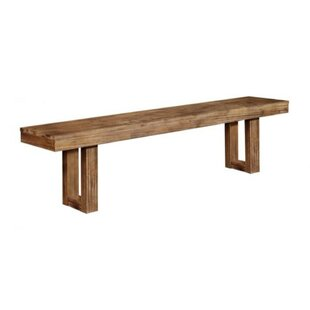 Passyunk Side Wood Bench by Union Rustic