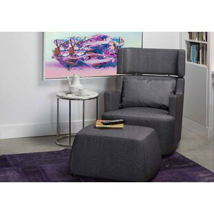 Mobital Guapo Swivel Armchair and Ottoman