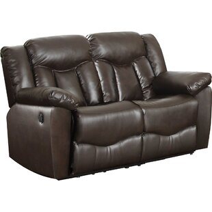 Inexpensive James Motion Reclining Loveseat by Nathaniel Home Reviews (2019) & Buyer's Guide