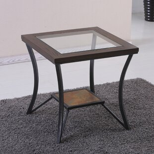 Gracie Oaks Clerkin End Table by Simmons Casegoods