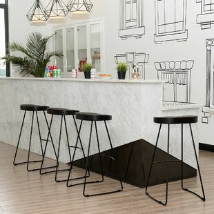 Inexpensive Bricker Industrial Vintage 30.5 Bar Stool (Set of 4) by Foundry Select Reviews (2019) & Buyer's Guide