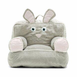 Big Joe Kid's Bagimal Throne Bean Bag Chair ByComfort Research