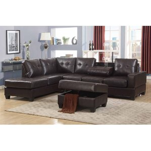 Silvia Reversible Sectional by Living In Style