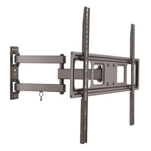 ProHT Full Motion TV Wall Mount for Curved  Flat Panel TVs Up to 70 by Inland Products