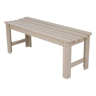 Backless Garden Bench by S..