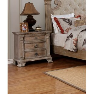Kaydence 3 Drawer Nightstand
