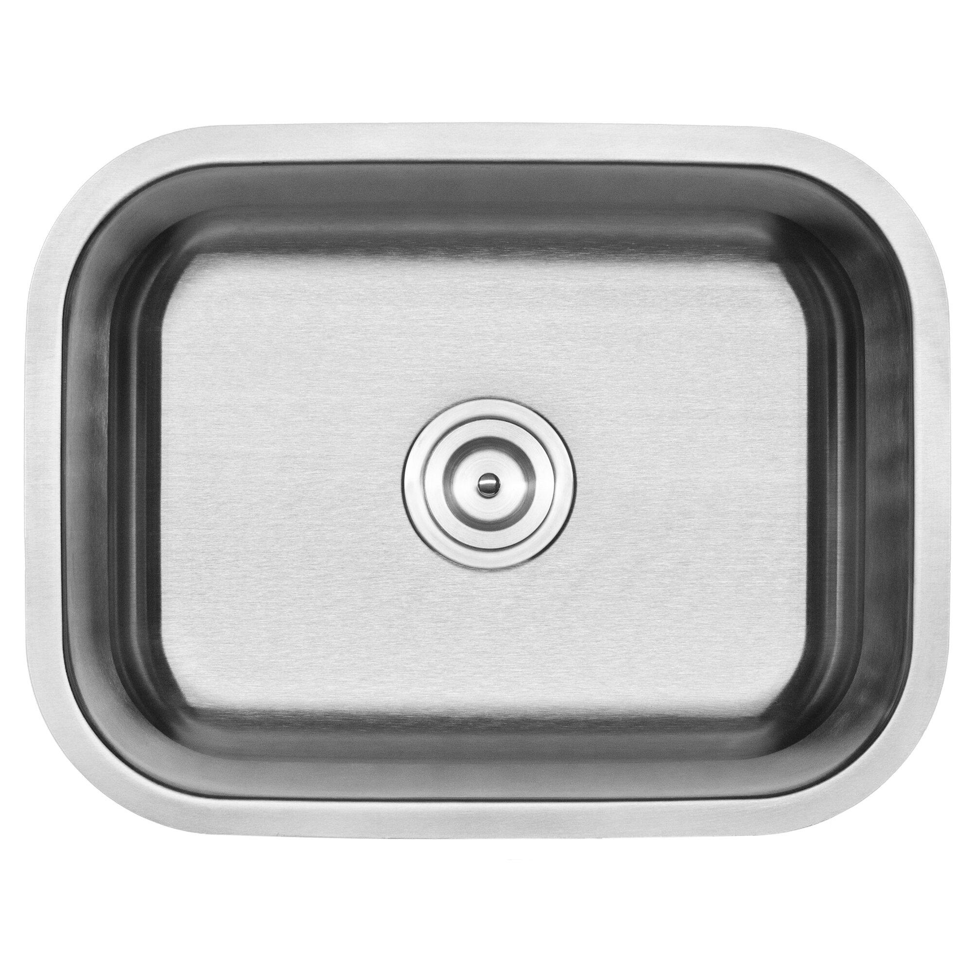 Phoenix Foster Series Stainless Steel 23 L X 17 75 W Undermount Kitchen Sink Wayfair